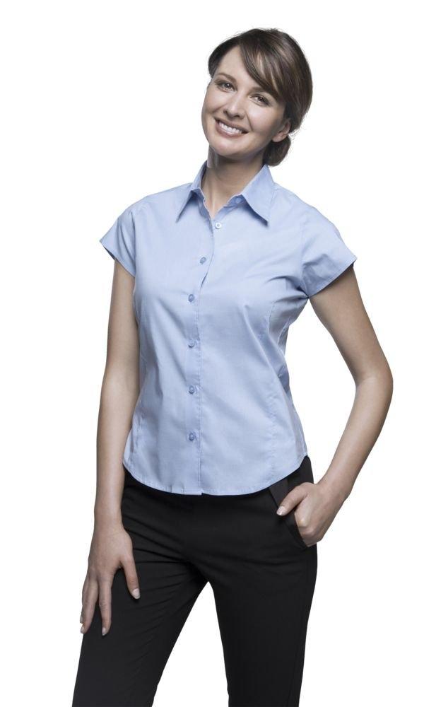 Рубашка женская с коротким рукавом Excess белая - 3