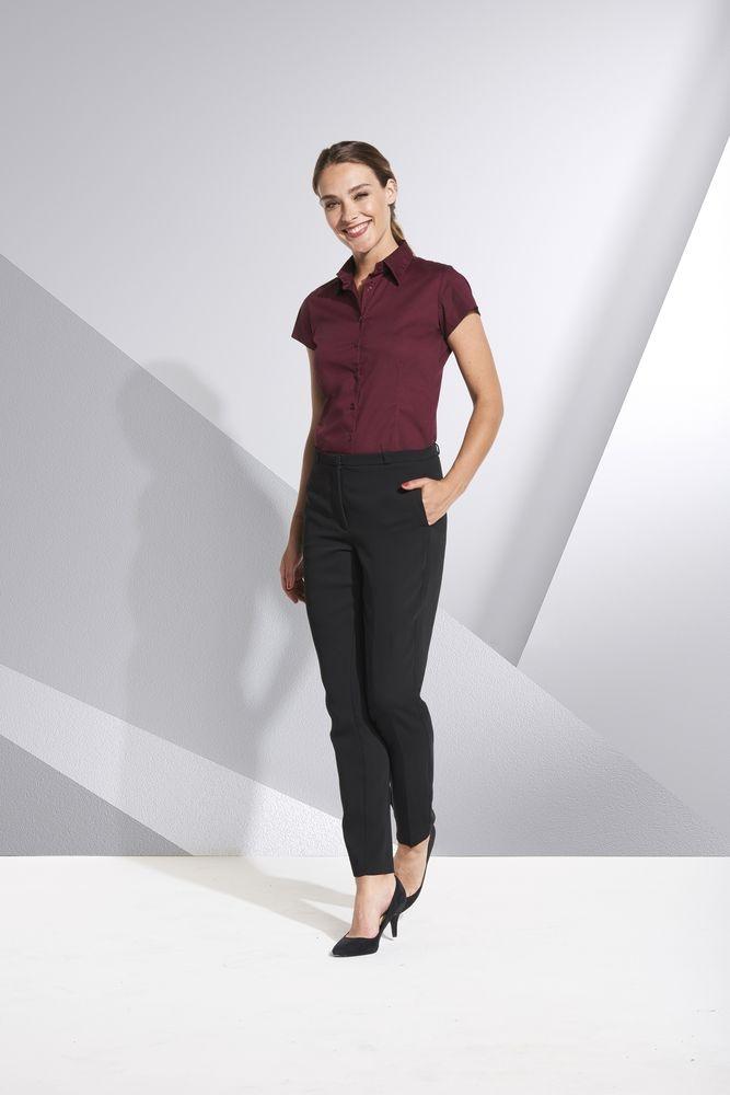 Рубашка женская с коротким рукавом Excess белая - 4