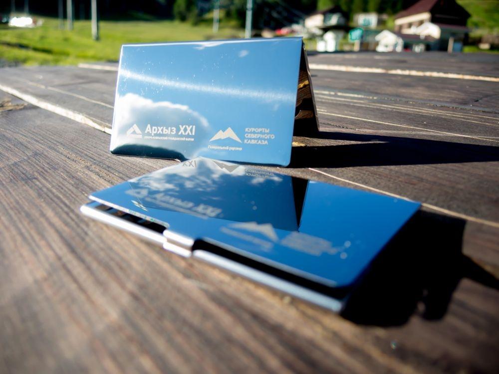 Футляр для визиток Steel - 7