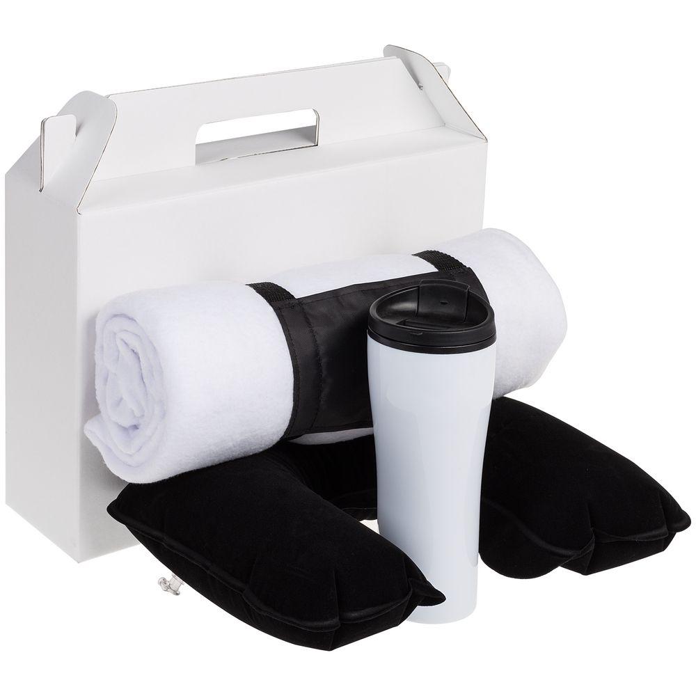 Коробка In Case L, белый, самосборная, 35,7х10,2х30 см, микрогофрокартон - 5