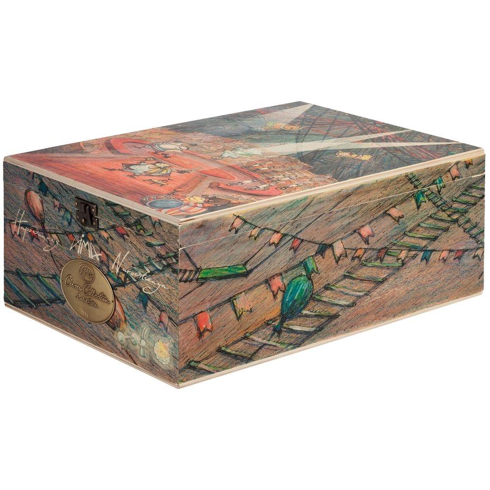 Набор из 3 елочных игрушек Circus Collection: фокусник, силач и лев - 16