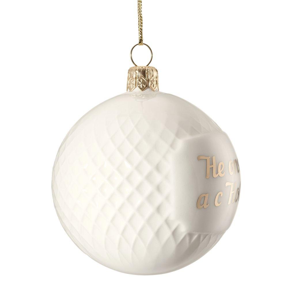 Елочный шар «Всем Новый год», с надписью «Не опять, а с Новым!» - 2