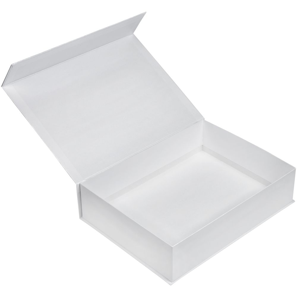 Коробка Koffer, белая, 40х30х10 см, переплетный картон - 3