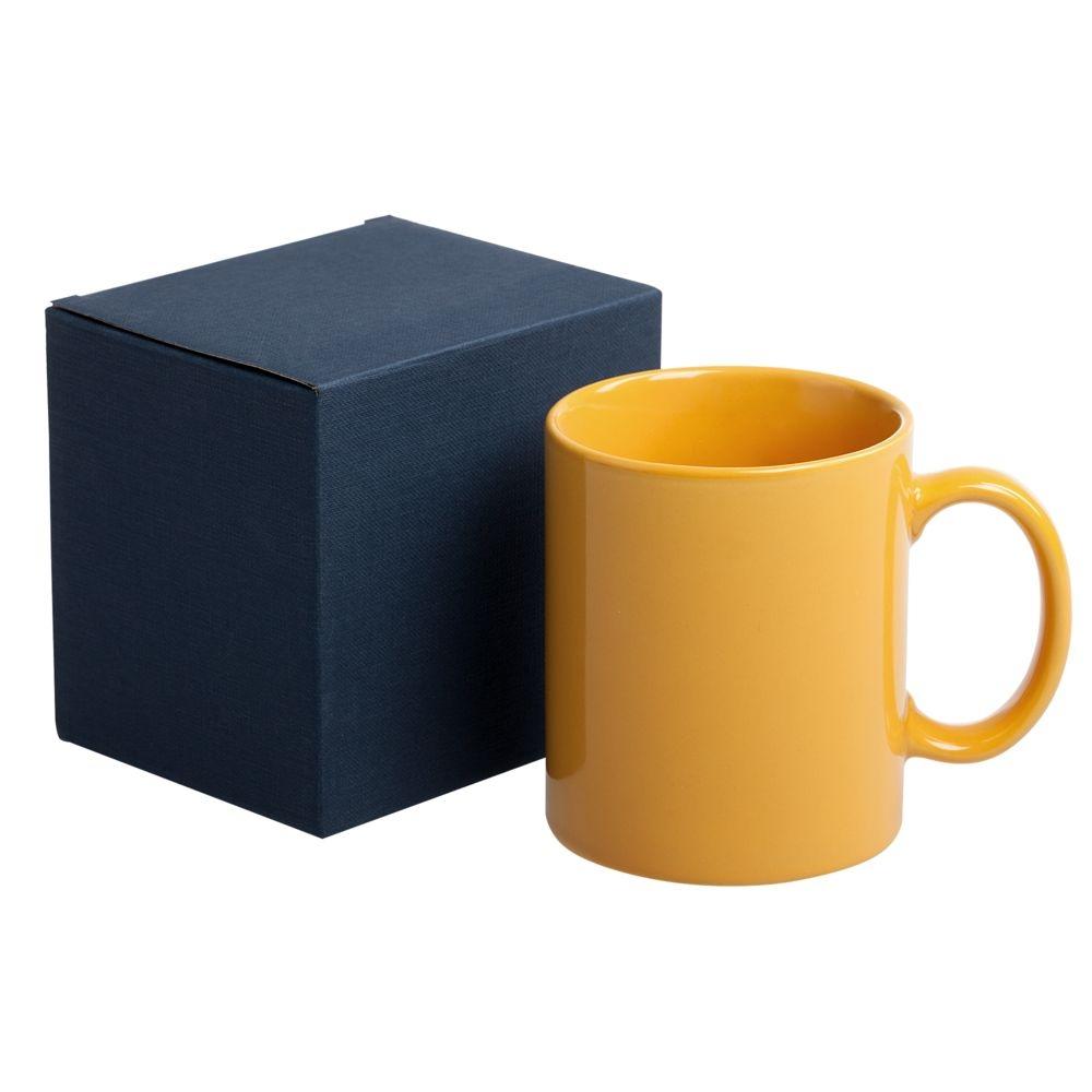Коробка для кружки, синяя, 11х9,3х10,5 см - 2