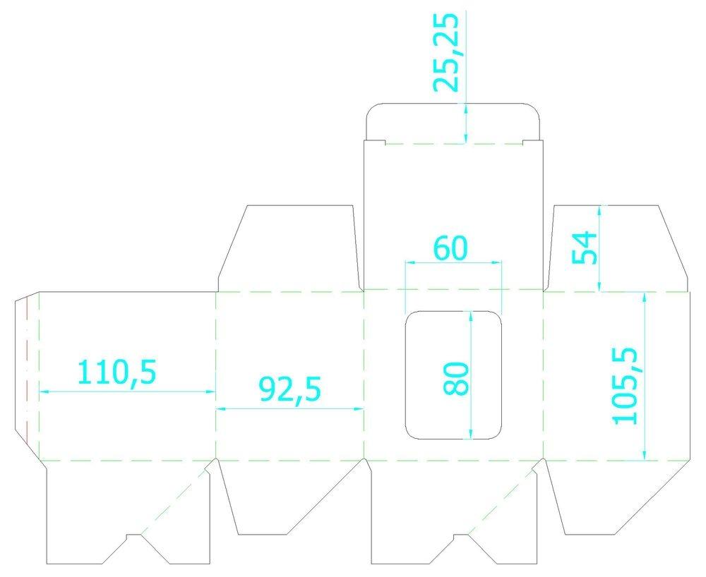 Коробка для кружки Window, белая, 11,2х9,4х10,7 см - 3