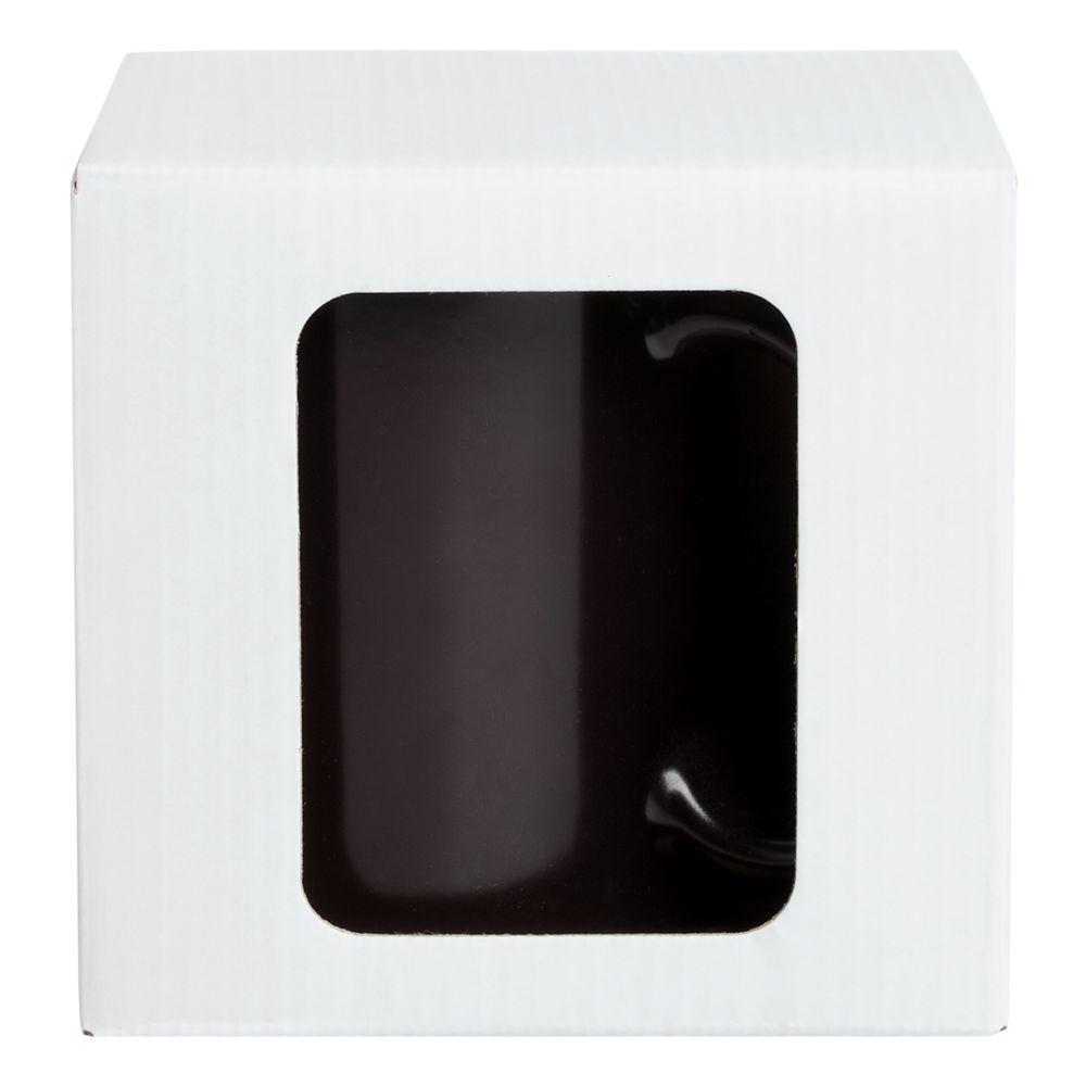Коробка для кружки Window, белая, 11,2х9,4х10,7 см - 5