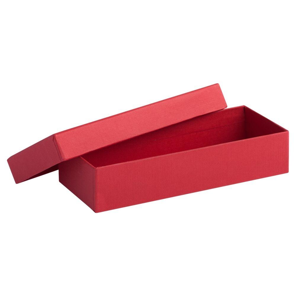 Коробка Mini, красная, 17,2х7,2х4 см, переплетный картон - 1