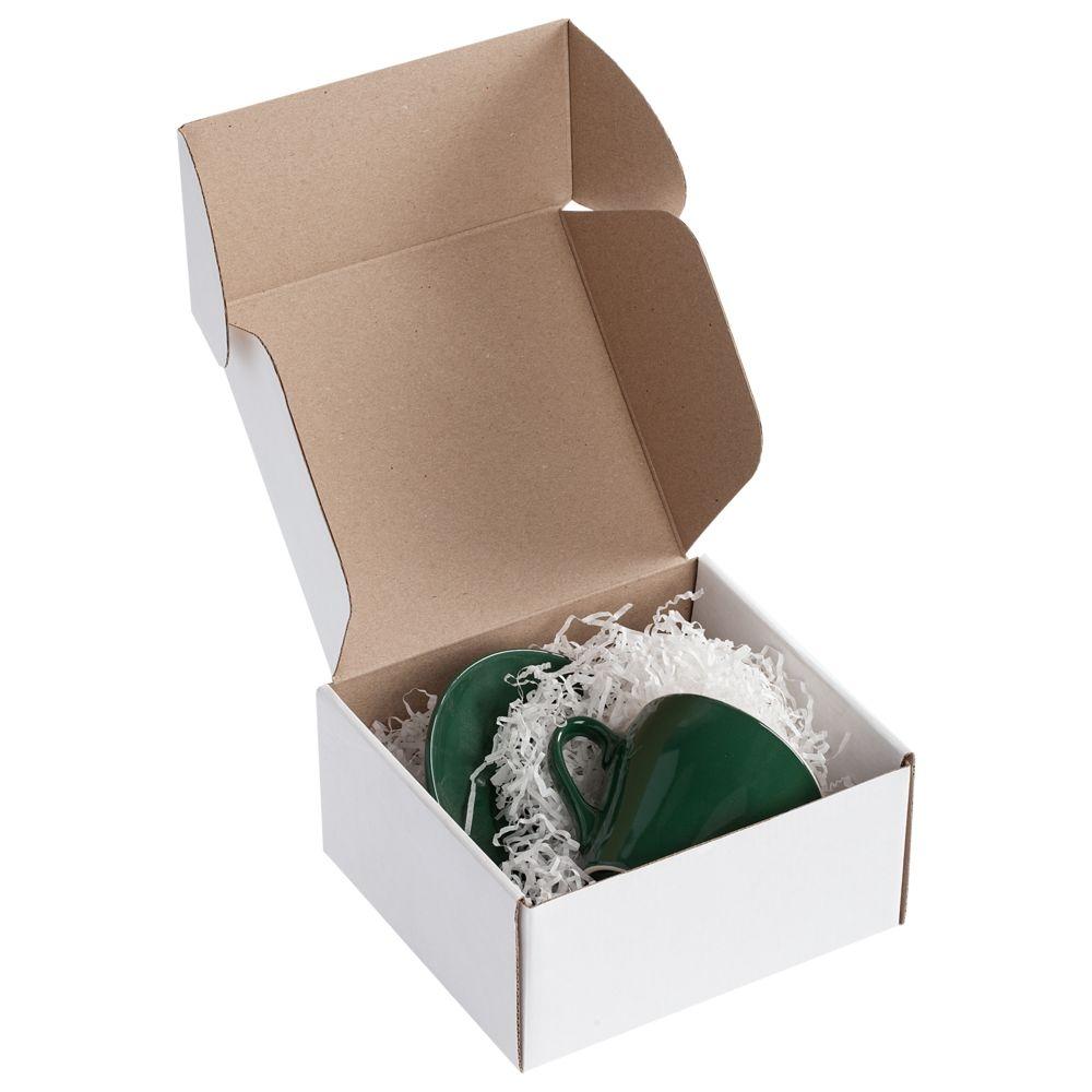 Коробка Piccolo, белая, самосборная, 16х15х8 см, микрогофрокартон - 1