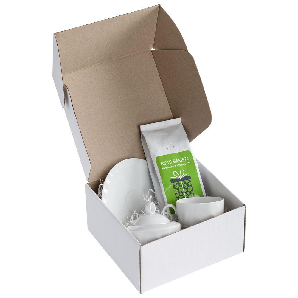 Коробка Medio, белая, самосборная, 20х20х10,5 см, микрогофрокартон - 1