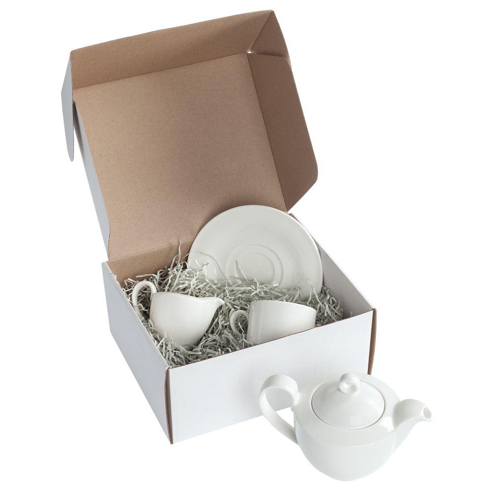 Коробка Grande, белая, самосборная, 24х21х11 см, микрогофрокартон - 1