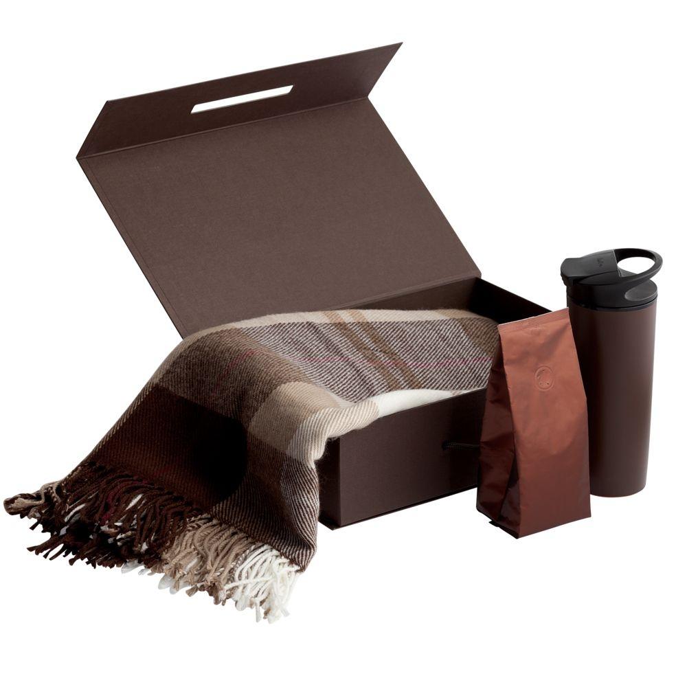 Кофе в зернах, в коричневой упаковке - 3