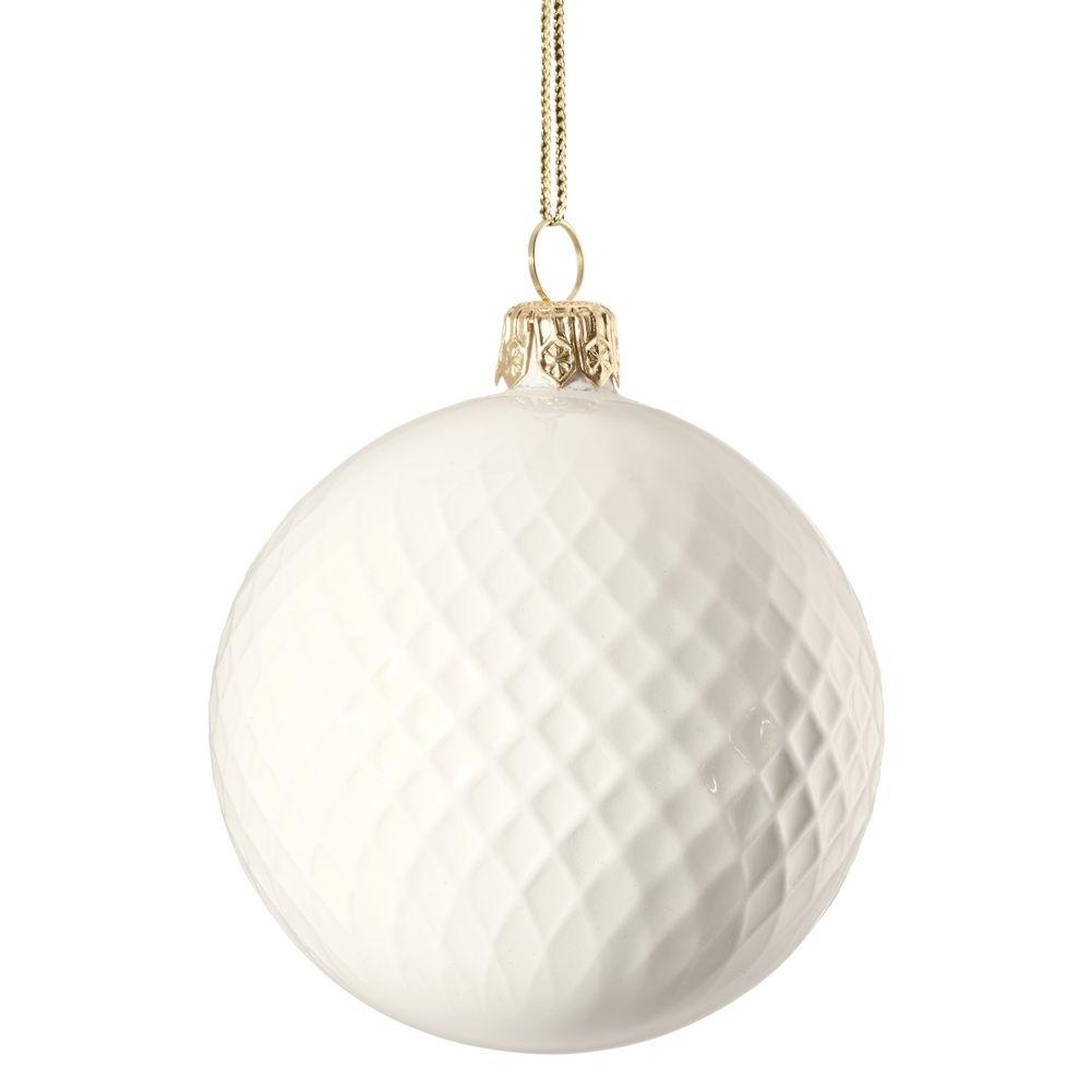 Елочный шар «Всем Новый год», с надписью «Не опять, а с Новым!» - 4