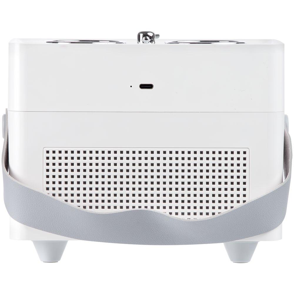 Переносной увлажнитель-ароматизатор с подсветкой Breathe at Ease, белый - 3