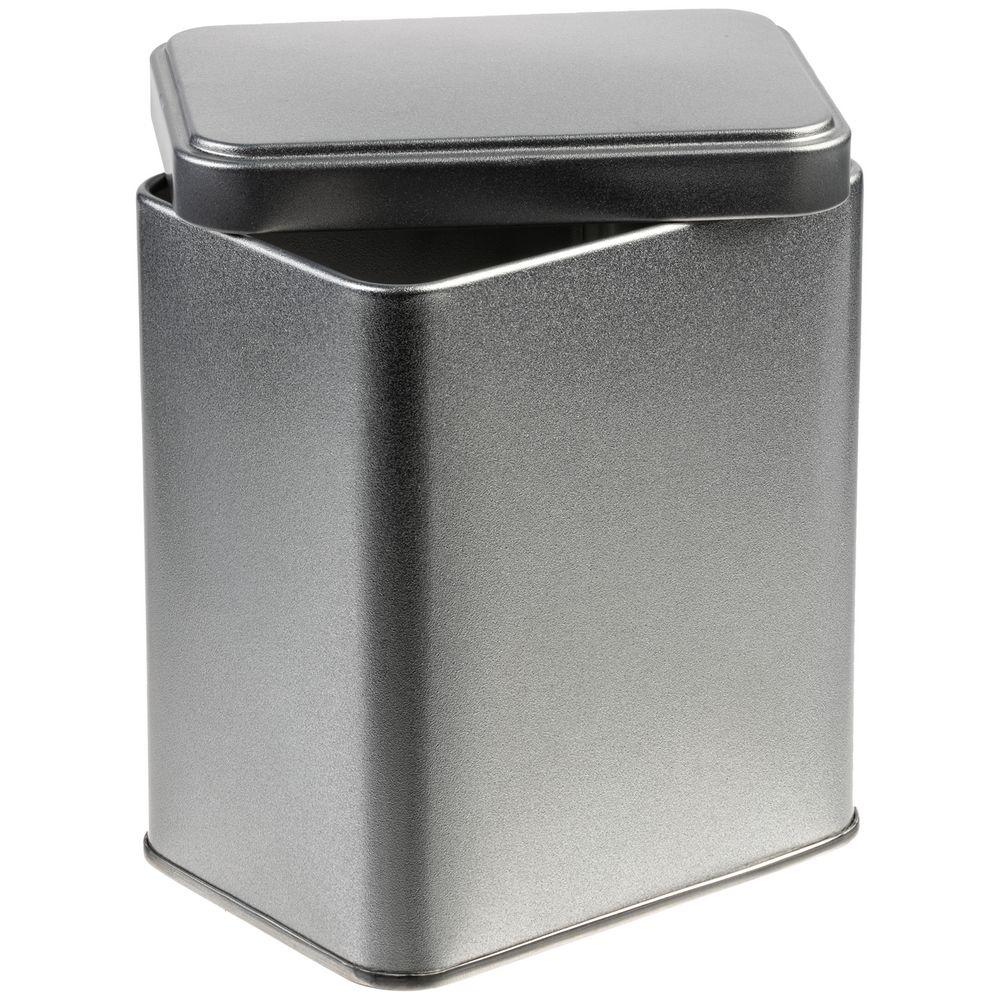 Коробка прямоугольная Jarra, серебро, 9x7x11 см, жесть - 2