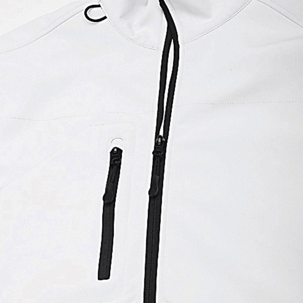 Куртка мужская на молнии Relax 340, белая - 3