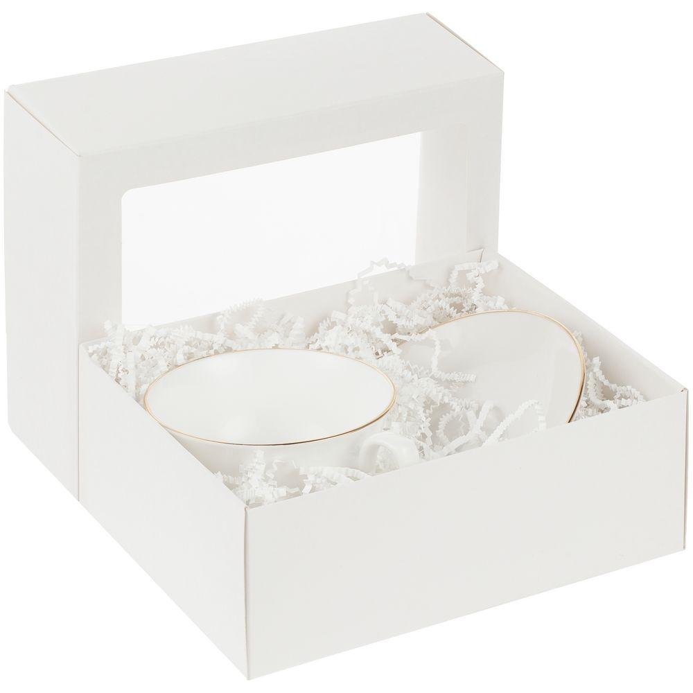 Коробка с окном InSight, белая, 21,3х16,5х7,8 см, ПВХ - 5