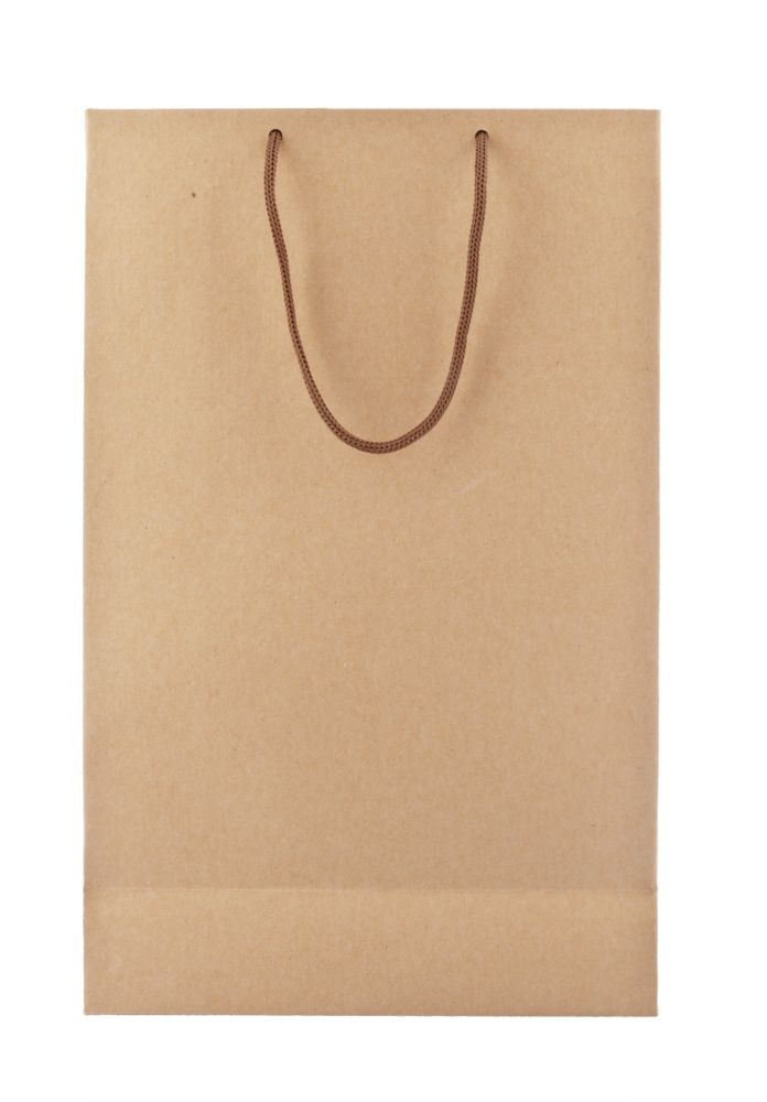 Пакет бумажный «Крафт», средний, 23х35х10 см - 3