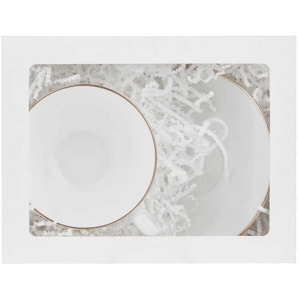 Коробка с окном InSight, белая, 21,3х16,5х7,8 см, ПВХ - 7