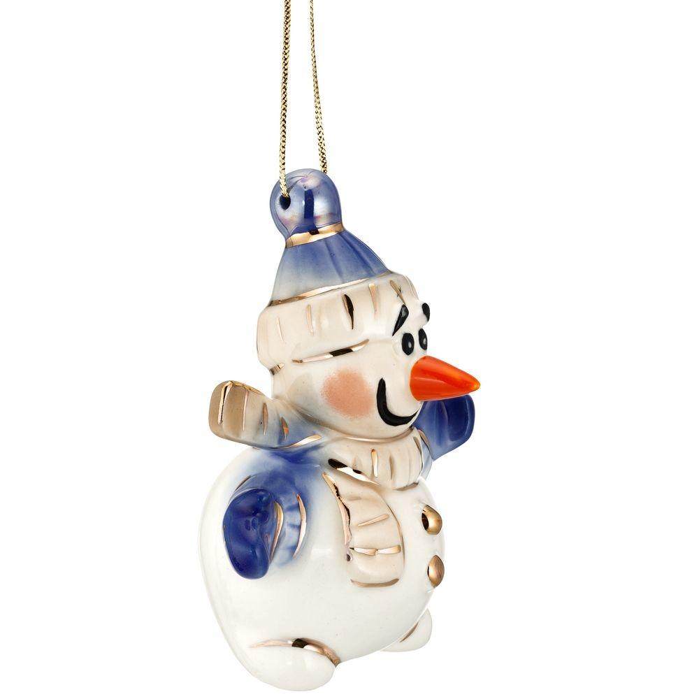 Фарфоровая елочная игрушка Olaf - 3