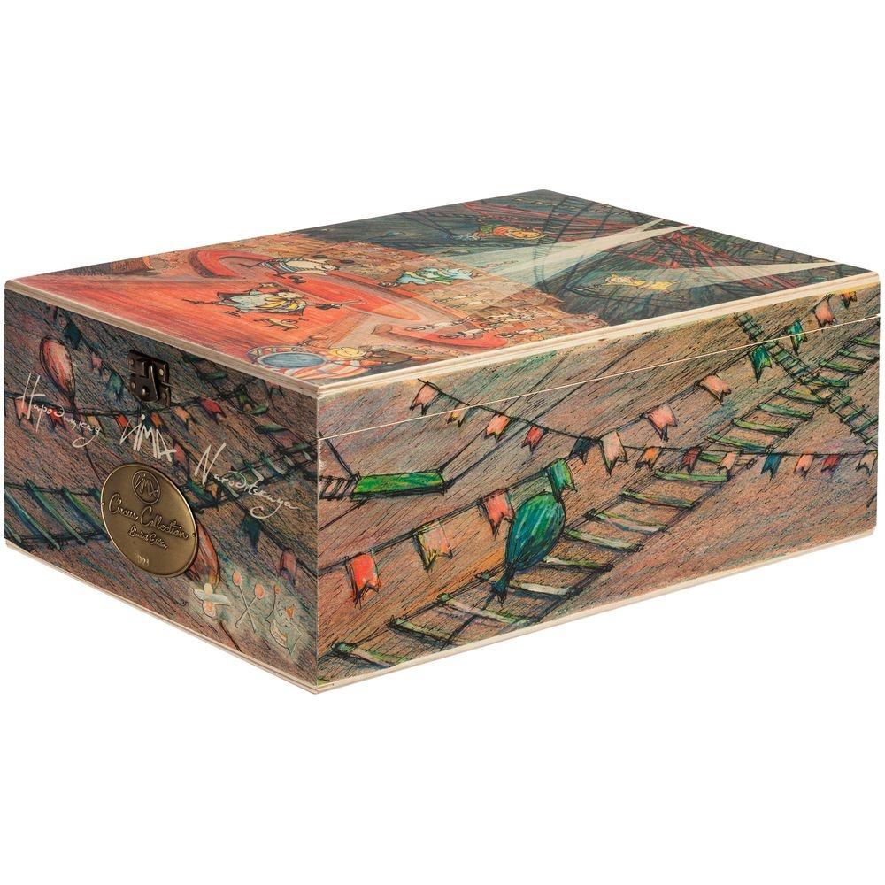 Набор из 3 елочных игрушек Circus Collection: барабанщик, акробат и слон - 12