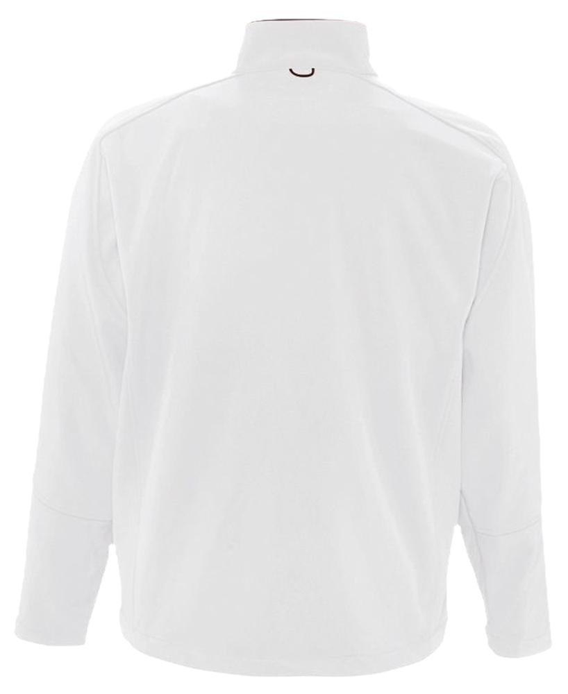 Куртка мужская на молнии Relax 340, белая - 5