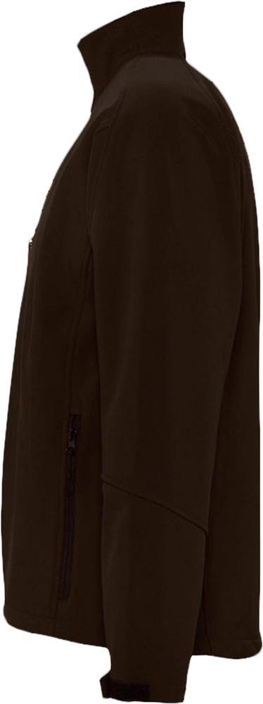 Куртка мужская на молнии Relax 340, коричневая - 6
