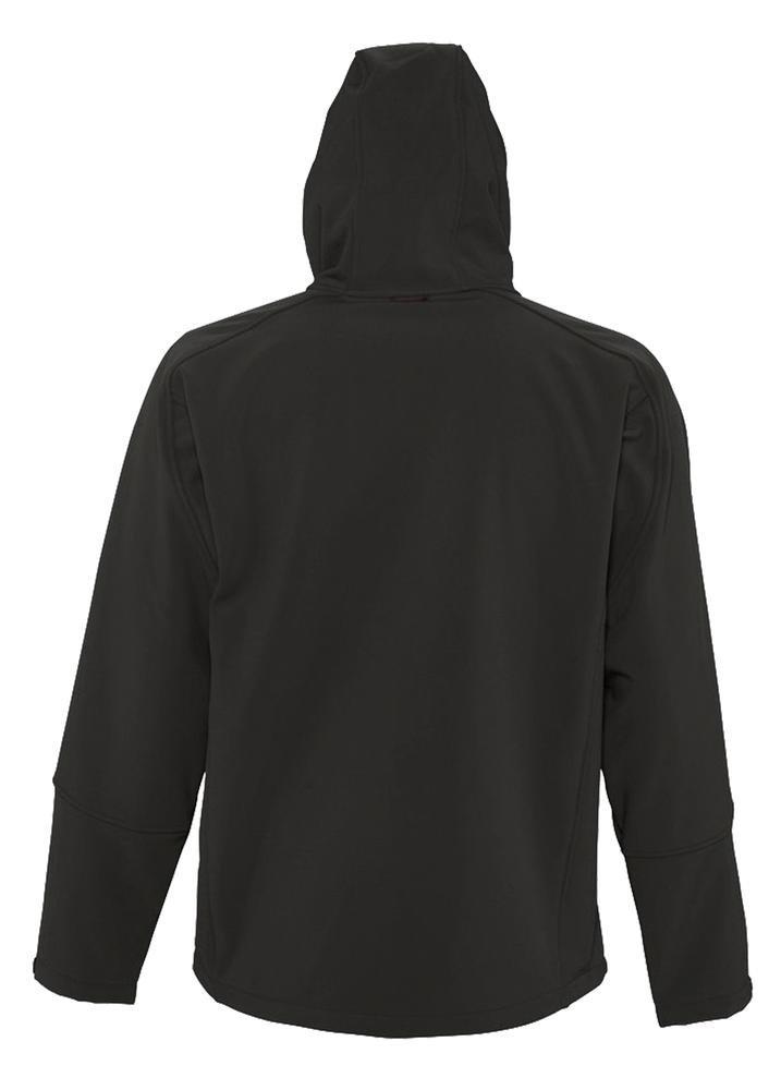 Куртка мужская с капюшоном Replay Men 340, черная - 3