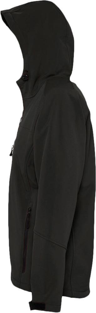 Куртка мужская с капюшоном Replay Men 340, черная - 4