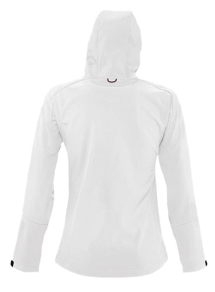 Куртка женская с капюшоном Replay Women, белая - 3