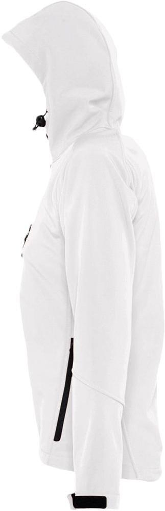 Куртка женская с капюшоном Replay Women, белая - 4