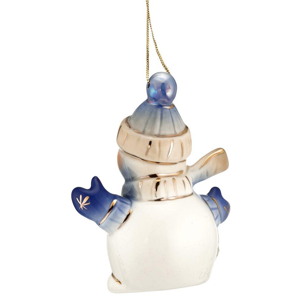 Фарфоровая елочная игрушка Olaf - 6