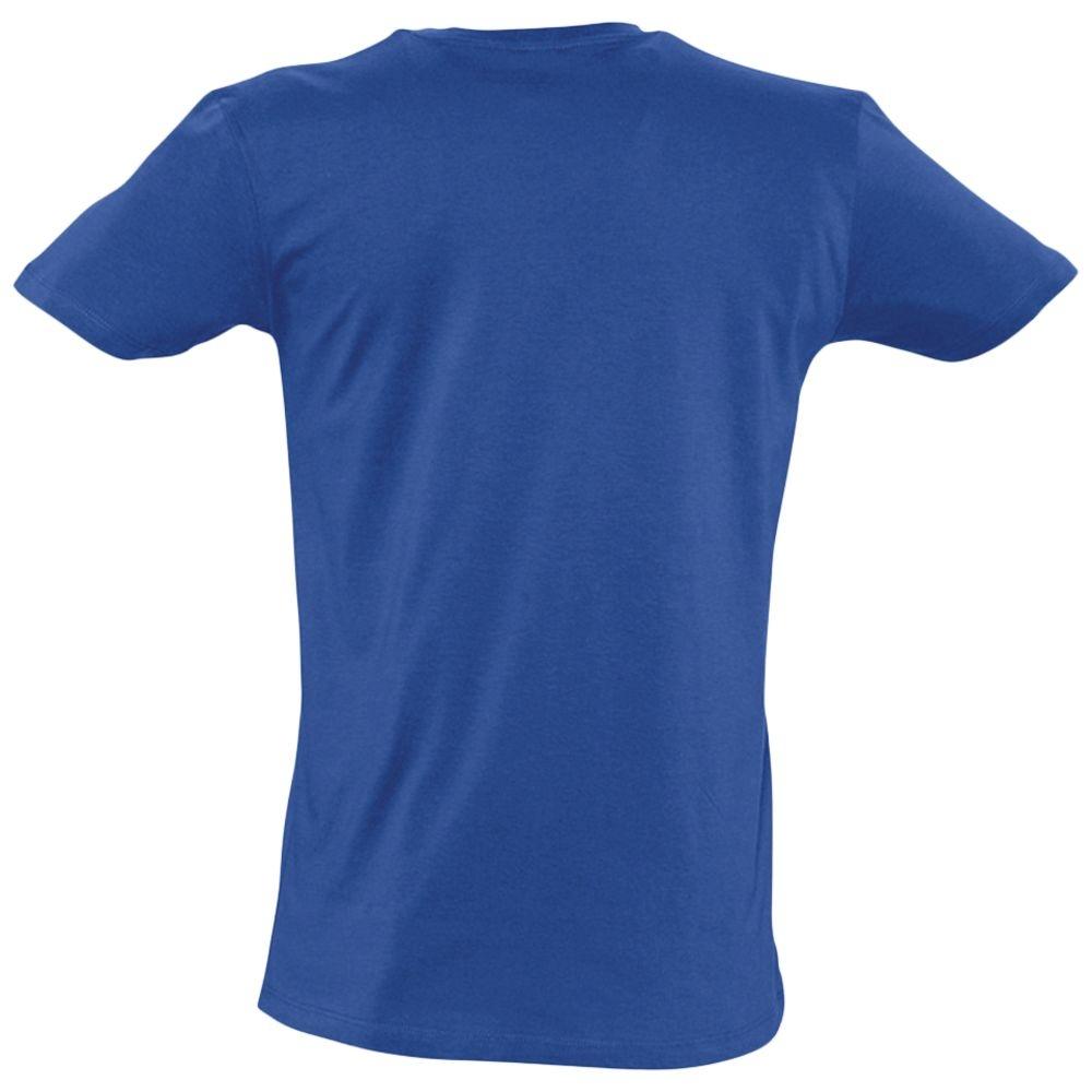 Футболка мужская Master 150 с глубоким V-обр. вырезом, ярко-синяя - 2