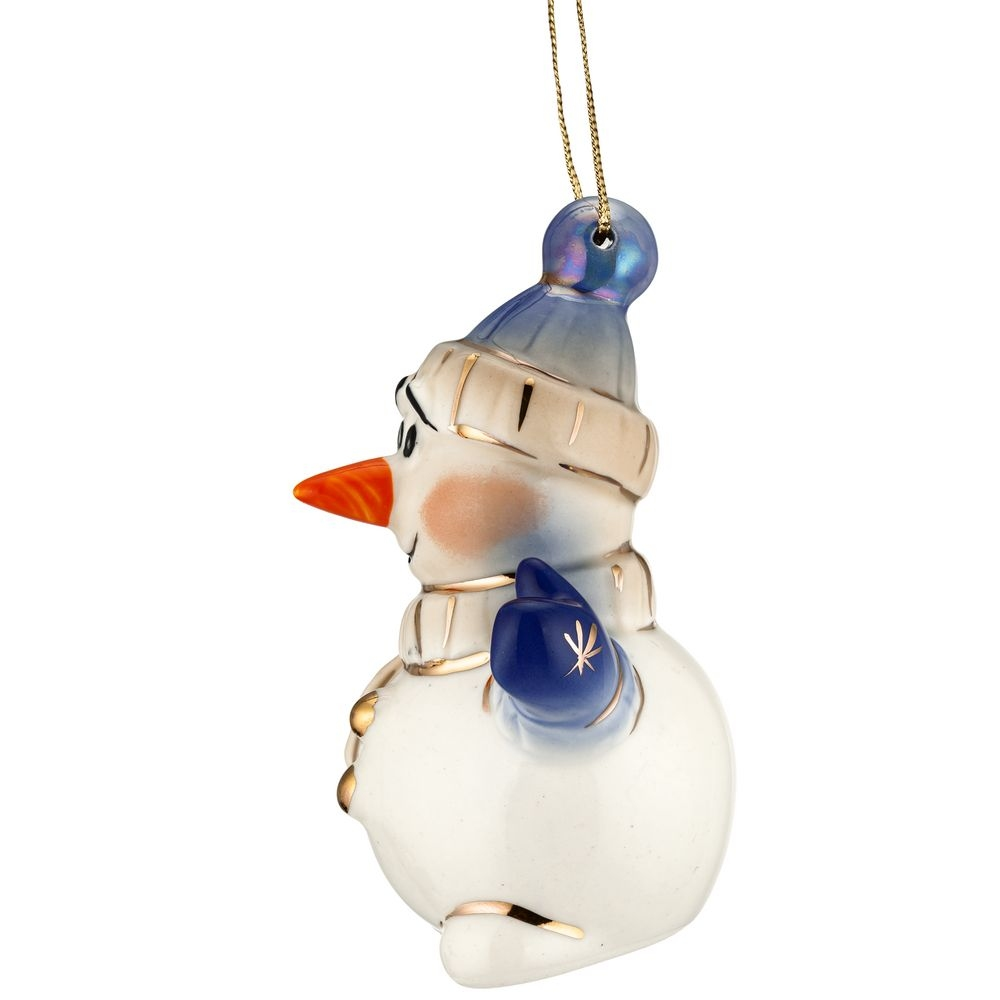 Фарфоровая елочная игрушка Olaf - 5