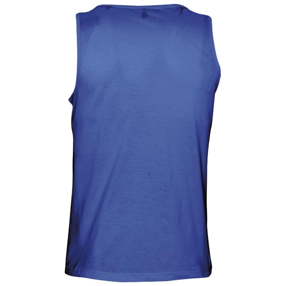 Майка мужская Justin 150, ярко-синяя - 2