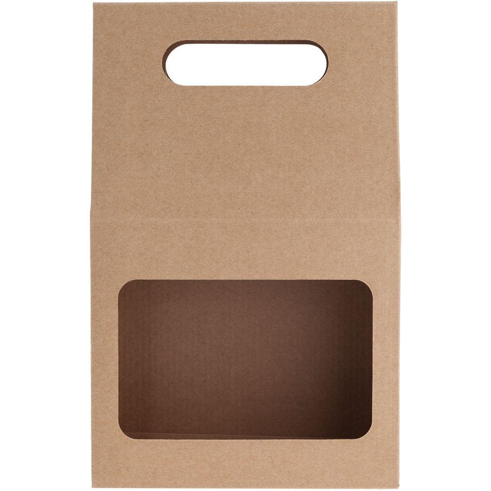 Коробка Behold крафт, самосборная, 16,2х25,5х7,8 см, микрогофрокартон - 3