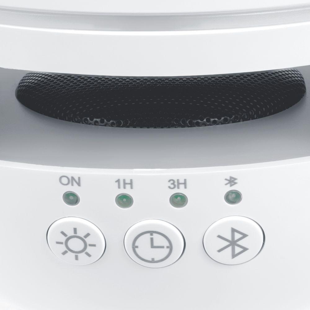 Увлажнитель с колонкой и подсветкой tuneMist, белый - 7