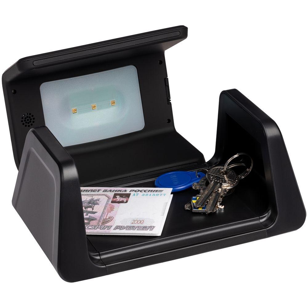 Настольный стерилизатор с беспроводной зарядкой и часами UV Depot, черный - 5