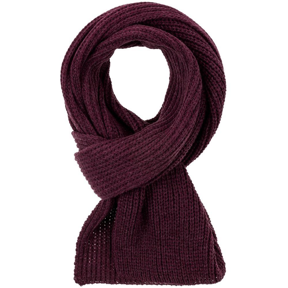 Набор Nordkyn с шарфом, бордовый - 3