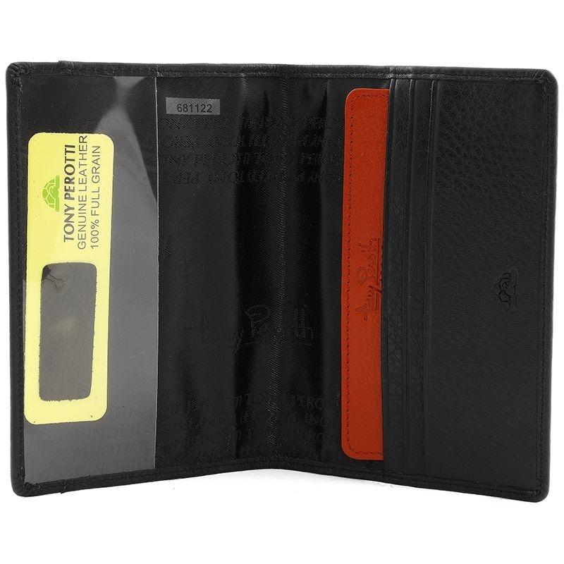 Обложка для паспорта Inserto, черная - 3