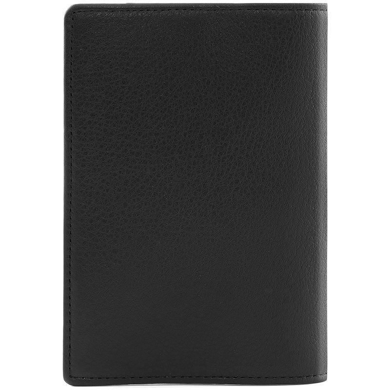 Обложка для паспорта Inserto, черная - 1