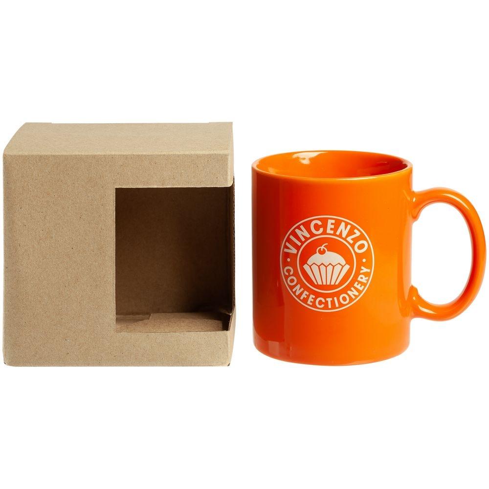 Коробка для кружки с окошком, крафт, 11,2х9,4х10,7 см - 4