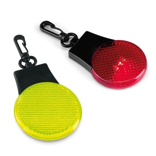 Светоотражатель с подсветкой Watch Out, красный - 1