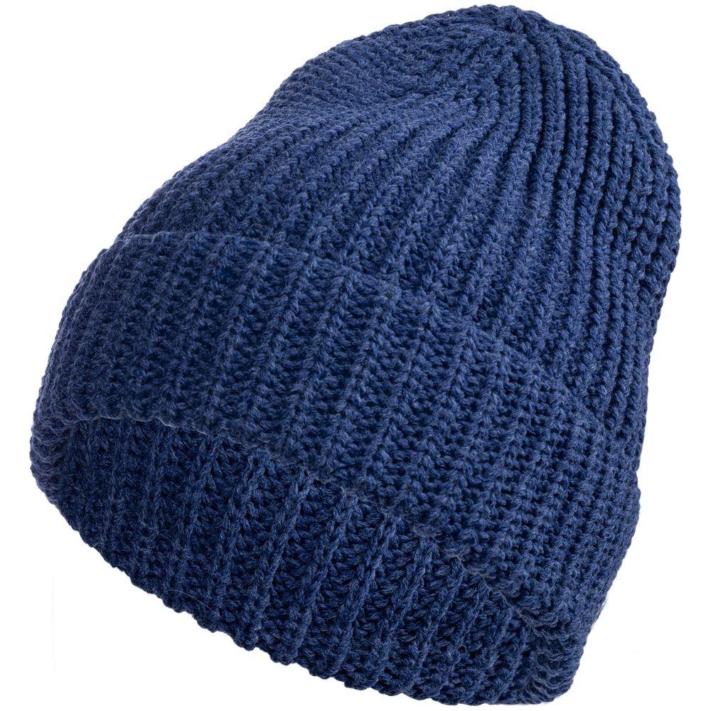 Набор Nordkyn с шарфом, синий меланж - 1