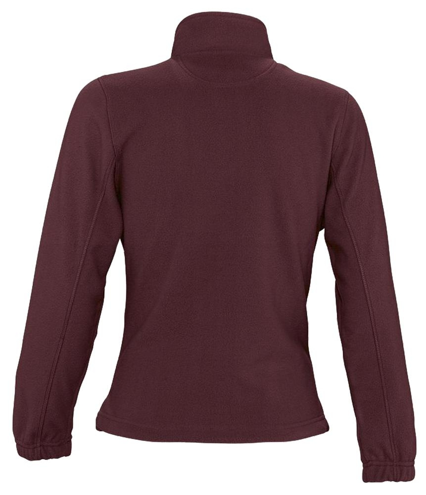 Куртка женская North Women, бордовая - 3