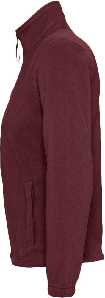 Куртка женская North Women, бордовая - 4