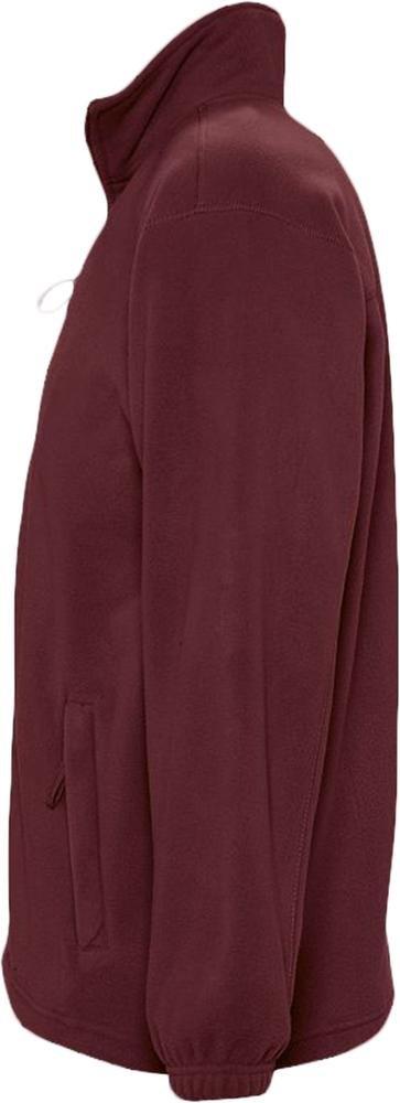 Куртка мужская North 300, бордовая - 6