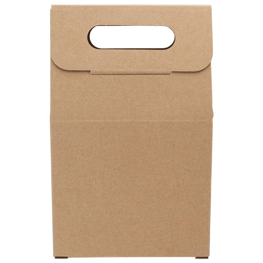 Коробка Behold крафт, самосборная, 16,2х25,5х7,8 см, микрогофрокартон - 5