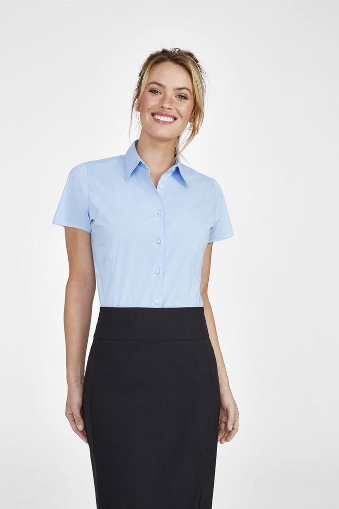 Рубашка женская с коротким рукавом Excess белая - 5