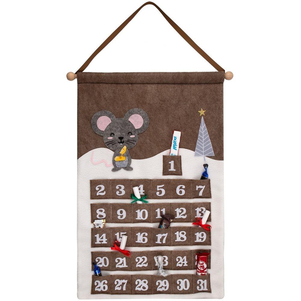 Адвент-календарь Noel, с мышкой - 5