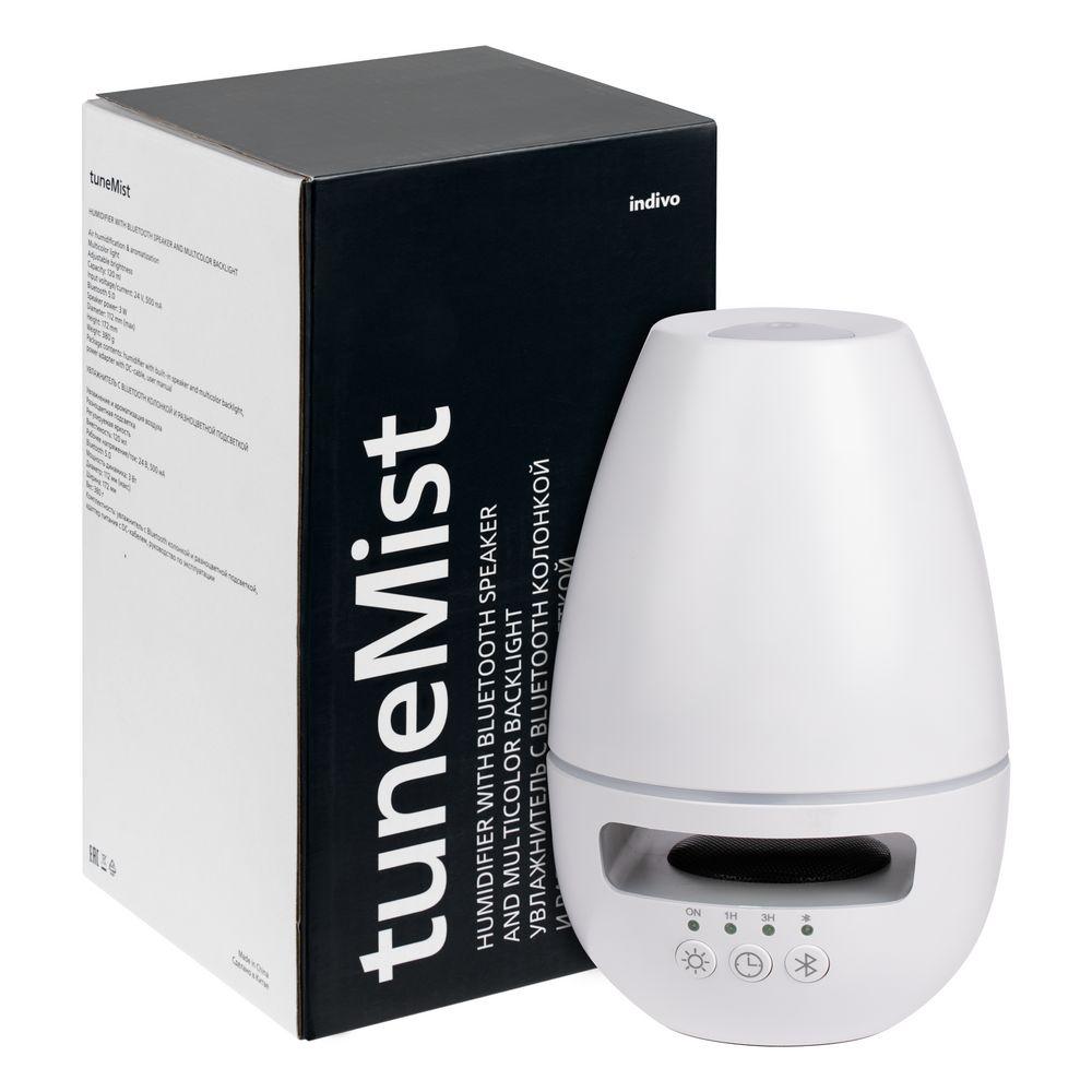 Увлажнитель с колонкой и подсветкой tuneMist, белый - 16